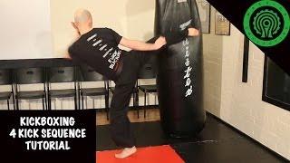 Kickboxing 4 Kick Sequence Tutorial