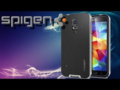 Hardware - Spigen Case für Samsung Galaxy S5 Hülle NEO HYBRID
