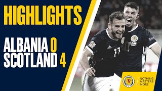 HIGHLIGHTS | Albania 0-4 Scotland