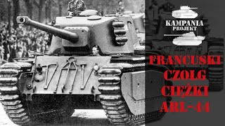 ARL 44 - francuski powojenny czołg ciężki