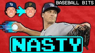 Tyler Glasnow Throws The NASTIEST Pitch In Baseball | Baseball Bits