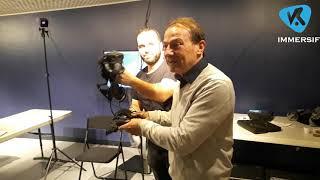 VR IMMERSIF :  «Ski de 7 à 77 ans» Grosse décharge émotionnelle !