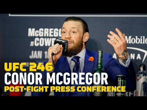 UFC 246: Conor McGregor Post-Fight Press Conference - MMA Fighting