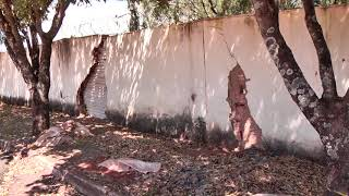 Três meses depois, reparos na estrutura da sede da Justiça do Trabalho em Patos de Minas ainda não foram concluídos.