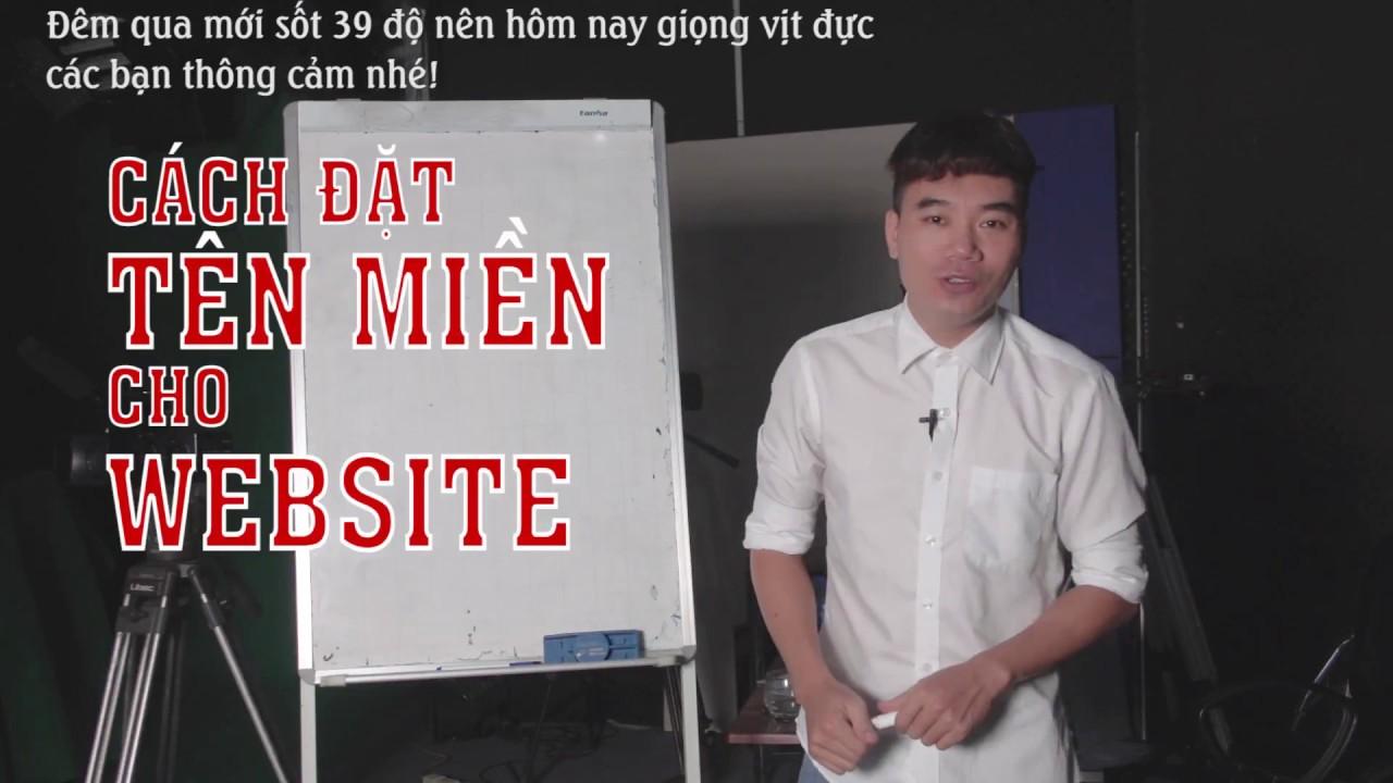Hướng dẫn chọn tên miền cho website
