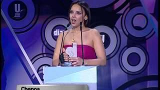 Chenoa. Premio y Buenas Noticias en vivo.PREMIOS CADENA DIAL 2009_1.m2ts