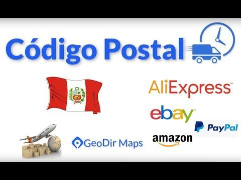 Como saber tu Código Postal 2019 - Mapa Perú - Aliexpress, Ebay, Wish, Amazon - GPS - Geodir Maps