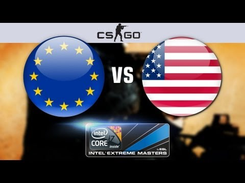 Counter-Strike Global Offensive America Vs Europe Throw Down