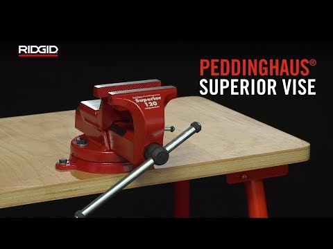 RIDGID / Peddinghaus® Superior Bench Vise