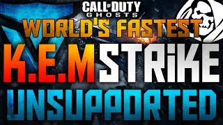 Call Of Duty Ghosts: WORLD'S FASTEST K.E.M. STRIKE UNSUPPORTED (67 Seconds KEM XBOX Core Gameplay)