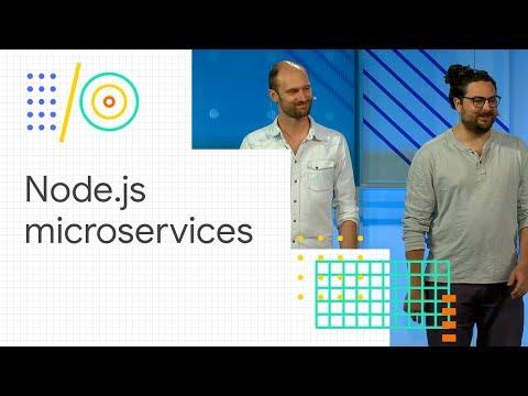 Deploying serverless Node.js microservices