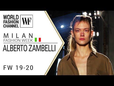 Alberto Zambelli Fall-winter 19-20 MFW