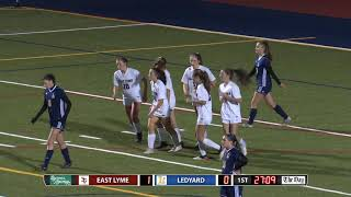 Girls' soccer highlights: East Lyme 5, Ledyard 0
