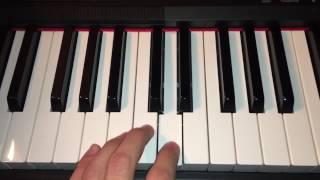Moonlight Drive - The Doors Piano Tutorial