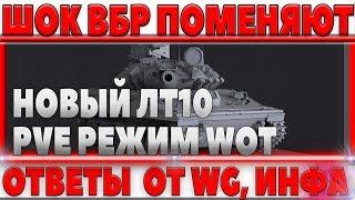 БУДУТ МЕНЯТЬ ВБР И ТОЧНОСТЬ, НОВЫЙ БРИТАНСКИЙ ЛТ10 PvE РЕЖИМ WOT, ПРО НОВЫЙ БАЛАНС world of tanks