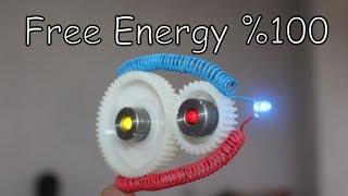 Dişli Mekanizma İle Sınırsız Elektirik Üretimi | FREE ENERGY BS!!