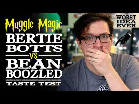Bertie Bott's VS Bean Boozled - Tasting Every Flavor - Worst Idea Ever!