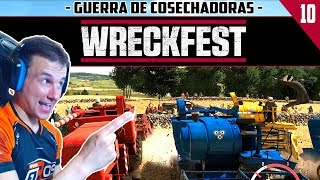 WRECKFEST #10 | GUERRA DE COSECHADORAS | GTro_stradivar Gameplay Español