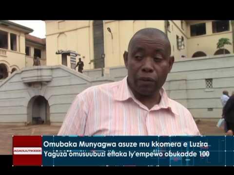 Omubaka Munyagwa asuze mu kkomera e Luzira | MTW