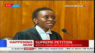Lawyer Macharia clarifies on the methods of identifying a voter