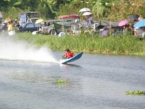 RC Thai Long Tail Racing Boat – Stepped Hydroplane Thai Style | Bangkok Hobbies