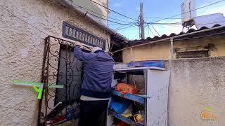 اغلقوا منافذ بيته وضيّقوا عليه المعيشة .. شاهد معاناة الحاج اسماعيل الشوّا