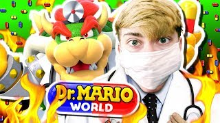 Dr. Mario World - DOCTOR BOWSER! (iPhone Gameplay Video)