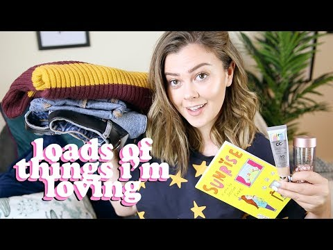 ALL THE THINGS I'M LOVING RIGHT NOW | LUCY WOOD