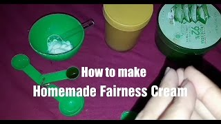 How to get fair skin in just 1week || homemade fairness cream with natural ingredients