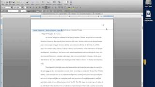 Headers / page numbers start on different page MS Word for MAC 2008