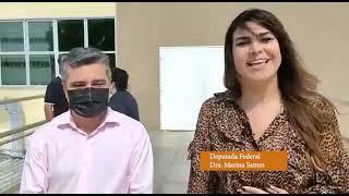 Deputada Federal Dra. Marina Santos Visita Hospital Infantil Lucídio Portela