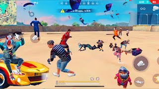 FREE FIRE FACTORY FIGHT BOOYAH PART  - FF FIST FIGHT ON FACTORY ROOF - GARENA FREE FIRE - TRICKS