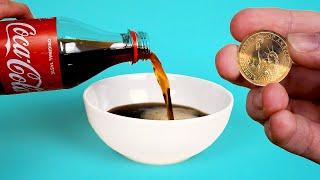 10 Coca Cola Tricks + Tooth Experiment