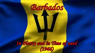 Barbados - In Plenty and in time of need - National Anthem, Music and  Text