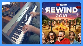 Youtube Rewind 2018 but I play a tritone every time something cringy happens