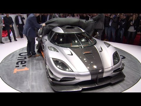 Koenigsegg One:1 Supercar Debut at Geneva Auto Show