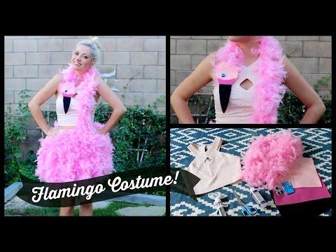 DIY Flamingo Costume! Style By Dani