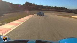 preview picture of video 'Lotus Elise S2 & Honda Civic Type R EP3 - Castelloli - Barcelona - España'