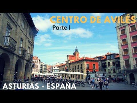 Centro Histórico de la ciudad de Avilés   Maravillas de Asturias. Norte de España. Primera Parte.