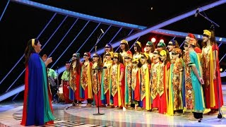 """""""Cor cu dor"""" interpretează un cântec african pe scena de la Next Star!"""