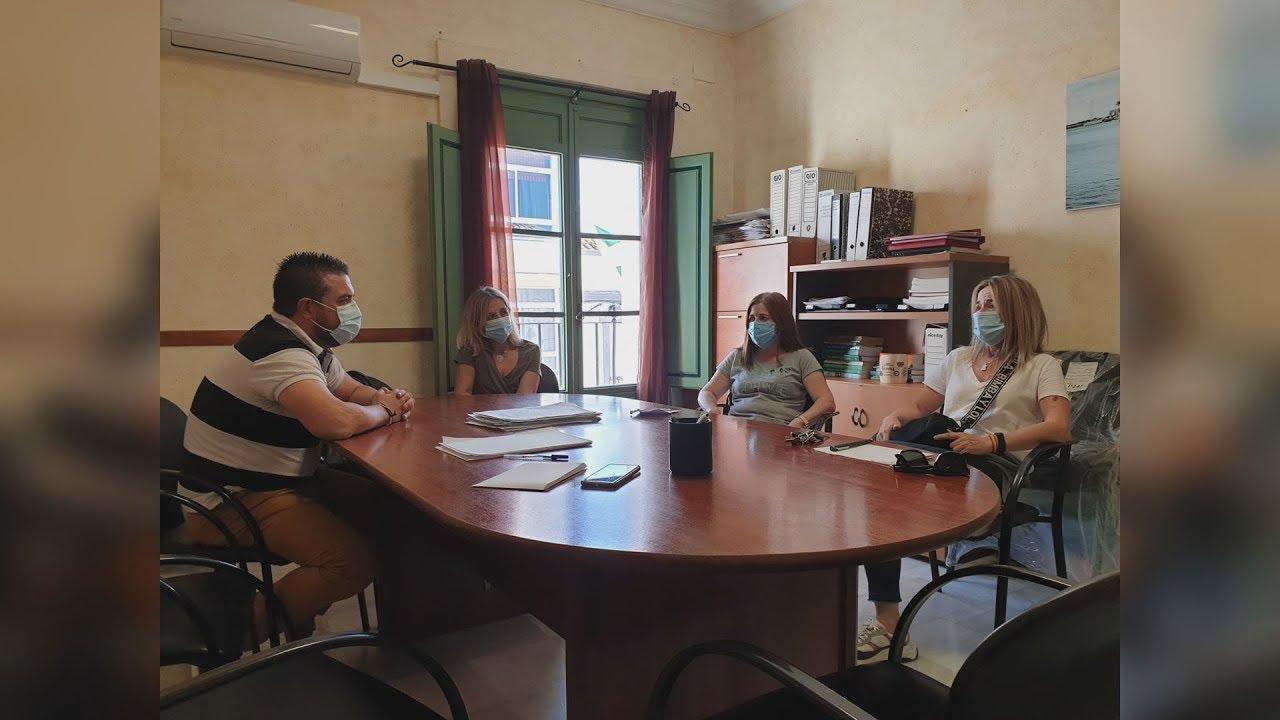 Reunión organizativa enfocada en las escuelas infantiles