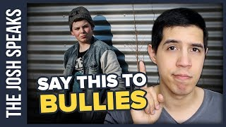Do THIS When a Bully Starts Making Fun of You
