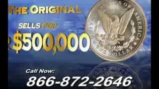 1895 Morgan Silver Dollar Tribute Coin