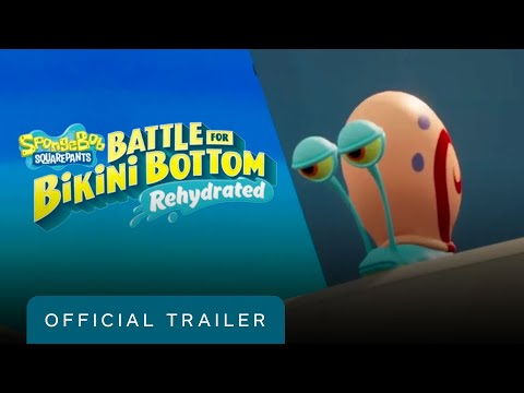 SpongeBob SquarePants: Battle for Bikini Bottom - Rehydrated - Official Gameplay Trailer