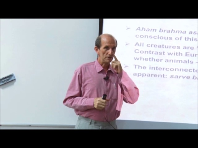 07 | Ethical systems | Michel Danino | 19 January | Part 2