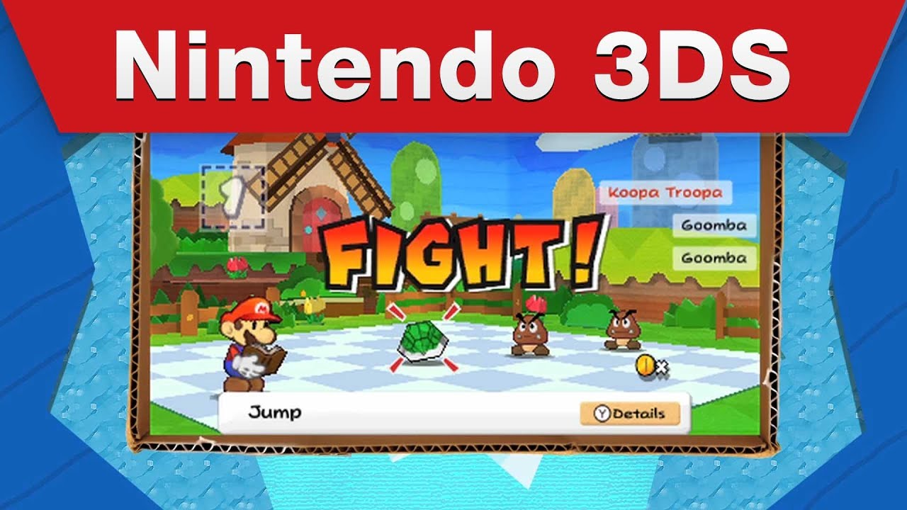 New Paper Mario Trailers Never Fail To Make Me Happy