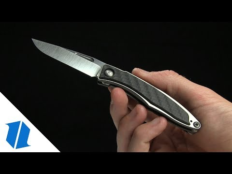 "Chris Reeve Mnandi Gentleman's Knife Carbon Fiber (2.75"" Satin)"