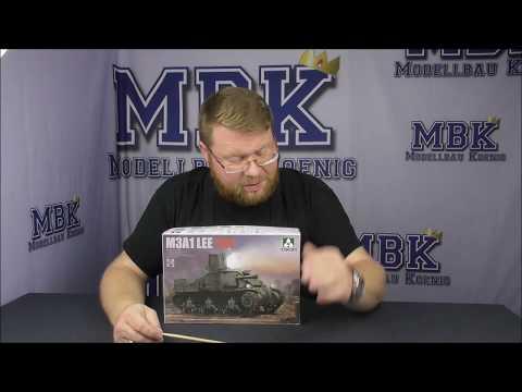 Neu Takom TAK2115-1:35 US Medium Tank M3A1 LEE CDL