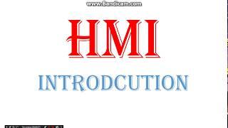 HMI(human machine interaction) IN HINDI