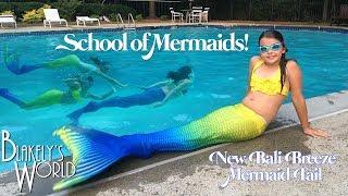 School Of Mermaids   New Bali Breeze Fin Fun Mermaid Tail